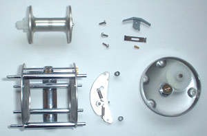 Spool, cage, right side plate